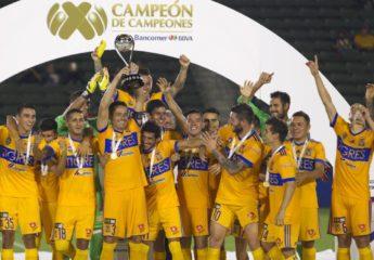 Tigres se toma revancha de Chivas y es Campeón de Campeones de la MX
