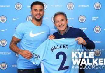 Oficial: Manchester City compra al lateral derecho, Kyle Walker, al Tottenham
