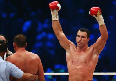 Vladimir Klitschko, un grande de los pesos pesados, anuncia su retiro