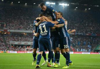 El Hamburgo gana 3-1 en la cancha del Colonia y es líder provisional