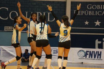 Honduras se juega el título frente a Costa Rica en el Sub18 de voleibol