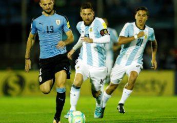 Uruguay y Argentina empatan en un juego sin ambiciones ni chispa