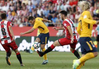 Atlético se lleva enorme susto con el Girona y empata en su debut