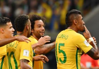 Brasil sigue imparable en la Conmebol y estira su liderazgo