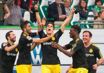 Con un emotivo Bartra anotando, el Dortmund arrolla al Wolfsburgo