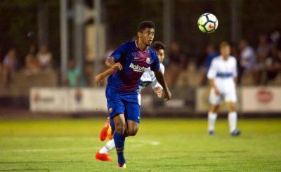 Empate del Barca B contra el Girona FC con Choco de titular