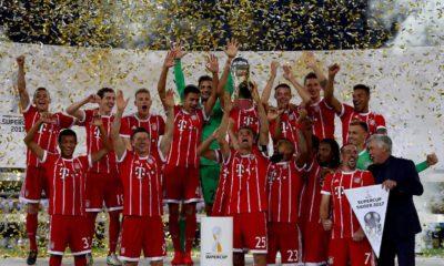 La Supercopa Alemana se tiñó de color rojo: Bayern campeón