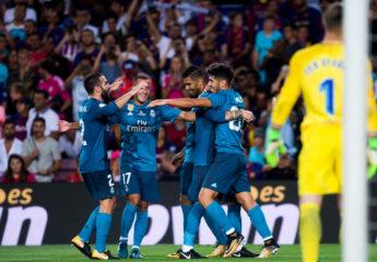 Golpe de autoridad del Real Madrid en el Camp Nou y acaricia la Supercopa