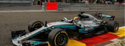 Hamilton logra la pole en el GP de Bélgica e iguala el récord de Schumacher
