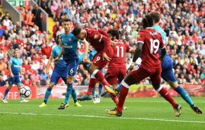 Liverpool ilusiona con exhibición y goleada sobre el Arsenal