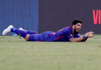 Luis Suárez, un mes de baja por una distensión en la rodilla