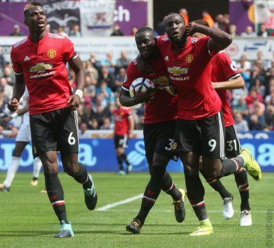 """Un """"diablo"""" suelto en la Premier League, golea al Swansea en Gales"""