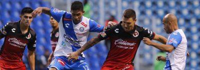 Puebla y Xolos Empataron en el inicio de la Jornada 4 de la Liga MX