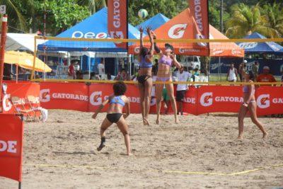 El voleibol de playa cada vez más invasivo en el deporte hondureño