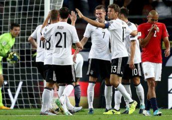 Alemania aplasta a Noruega pero debe esperar para confirmar cupo