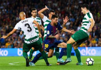 Paseo de Messi sobre el Eibar y el Barca golea y es más líder