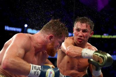 Canelo-Golovkin: una lección de boxeo con un pobre criterio arbitral