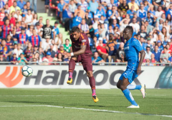 Paulinho coloca de líder al Barcelona al vencer al Getafe