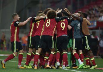 Bélgica, primera selección europea clasificada a Rusia 2018