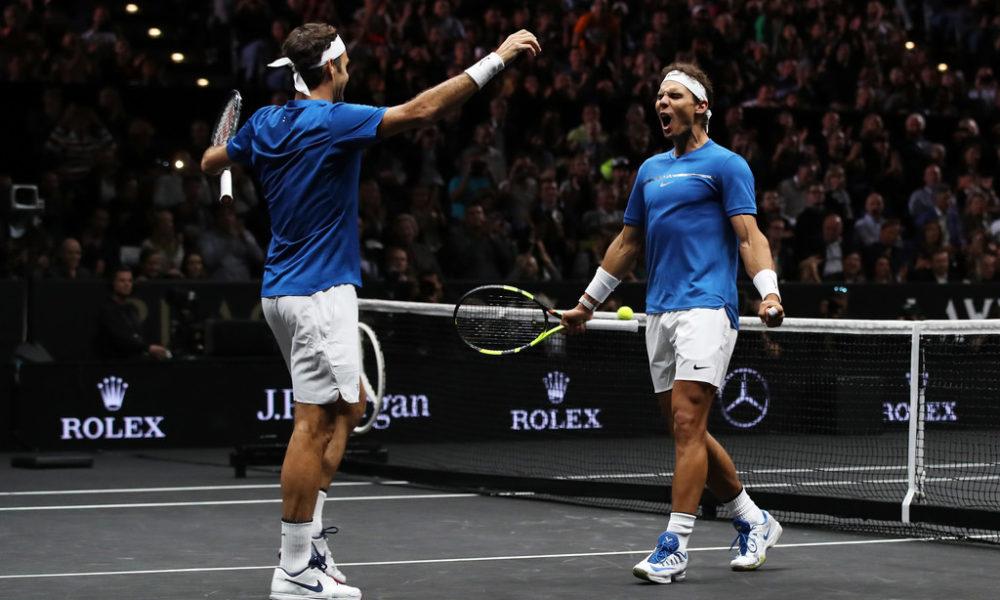 Laver Cup junta a Rafael Nadal y Roger Federer en dúo espectacular