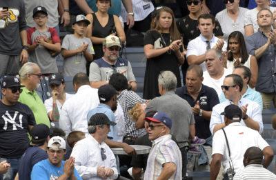 MLB: niña quedó inconsciente tras pelotazo a más de 100 km/h