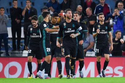 Real Madrid sale vivo de Anoeta... y con tres puntos