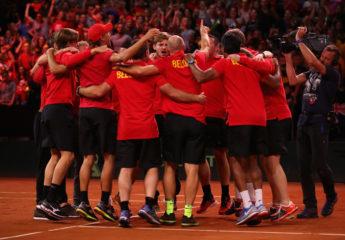Bélgica remonta a Australia y jugará la final de Copa Davis ante Francia