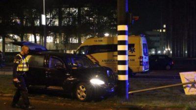 Kun Agüero sale herido en accidente en Holanda