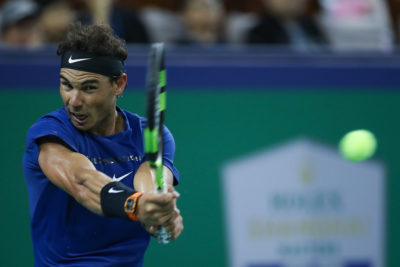 Nadal, Federer y Del Potro ya están en cuartos de Shanghai