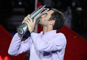 Federer se impone a Nadal y se consagra en el masters 1000 de Shanghai