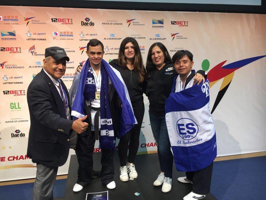 Honduras amanece con el Oro de Junior Erazo en Mundial en Para Taekwondo