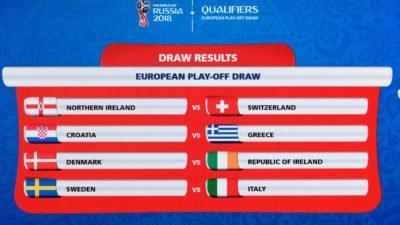 Italia - Suecia, juego cumbre de la repesca europea para el Mundial-2018