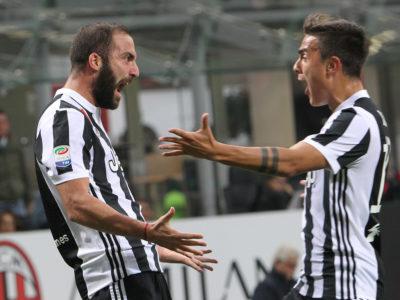 Higuaín hace líder a la Juventus frente a un dibujo de Milán