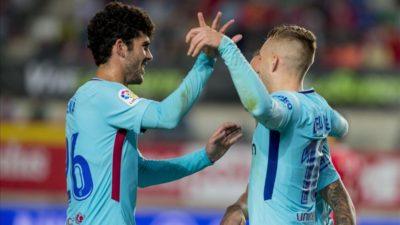 El Barcelona empieza con victoria en Murcia su defensa de la Copa del Rey