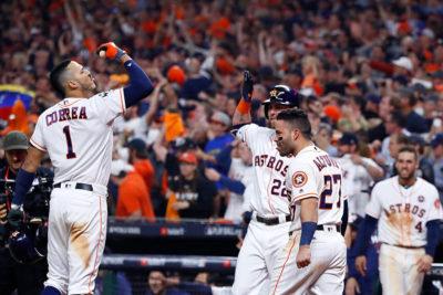 Partidazo de locos en Houston para ver el triunfo de Astros