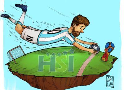 Triplete de Lionel Messi mete a Argentina en el mundial