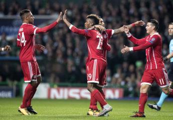 Bayern saca clasificación junto al PSG para octavos de Champions