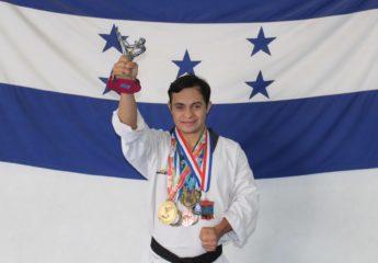 """Junior Erazo, bicampeón panamericano, hace """"ajustadillas"""" para competir en Londres"""