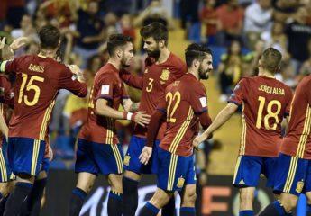 España confirma su presencia en Rusia 2018 al vencer a Albania