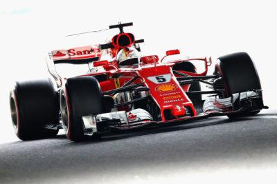La lluvia retrasa el duelo Hamilton-Vettel en el GP de Japón