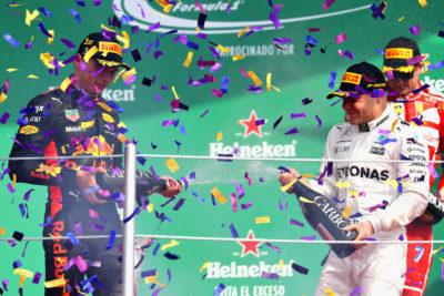 México ve a Hamilton campeón de la F1 que opaca triunfo de Verstappen