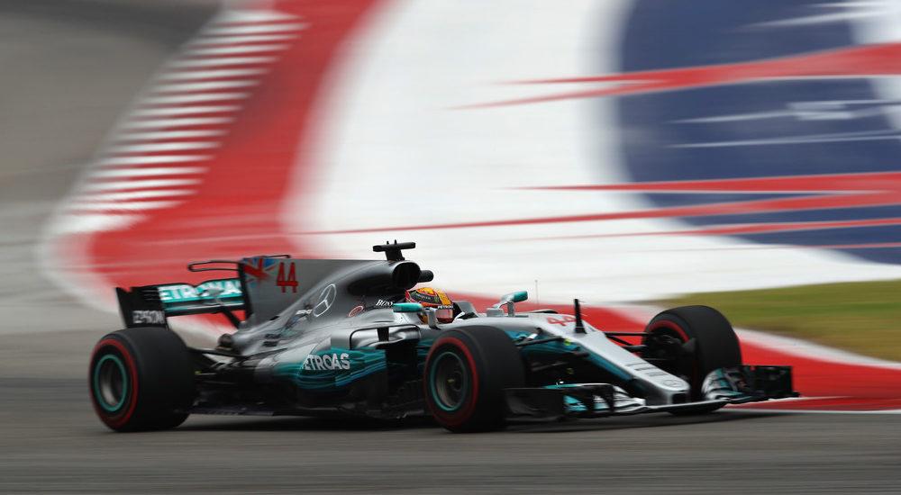 """Huele a """"tetra"""": Hamilton domina los primeros ensayos del GP en Austin"""