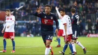 Bayern se cuela a la cima de la Bundesliga venciendo al Hamburgo