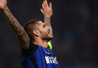 Triplete de Icardi para que el Inter gane el Derbi della Madonnina
