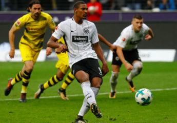 Dortmund cede frente al Eintracht y pone en peligro liderato