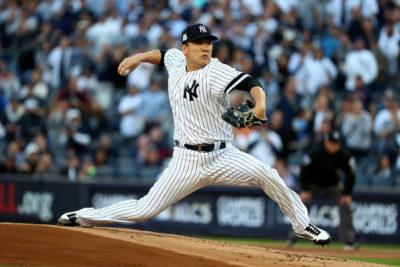 El samurái Tanaka, pone a los Yankees a un paso de la Serie Mundial