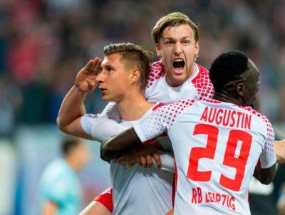Suerte impar para Alemania: Dortmund se hunde, Leipzig a flote