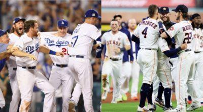 Astros y Dodgers encaminan sus series de campeonato ante Yankees y Cubs