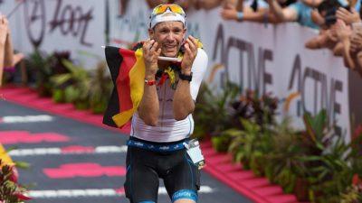 Patrick Lange remonta para ganar con récord el Ironman de Hawái