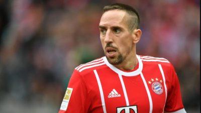 Franck Ribéry será baja en el FC Bayern Múnich varias semanas